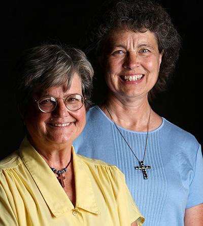 Sisters Helen Prejean-left and Marya Grathwohl 5